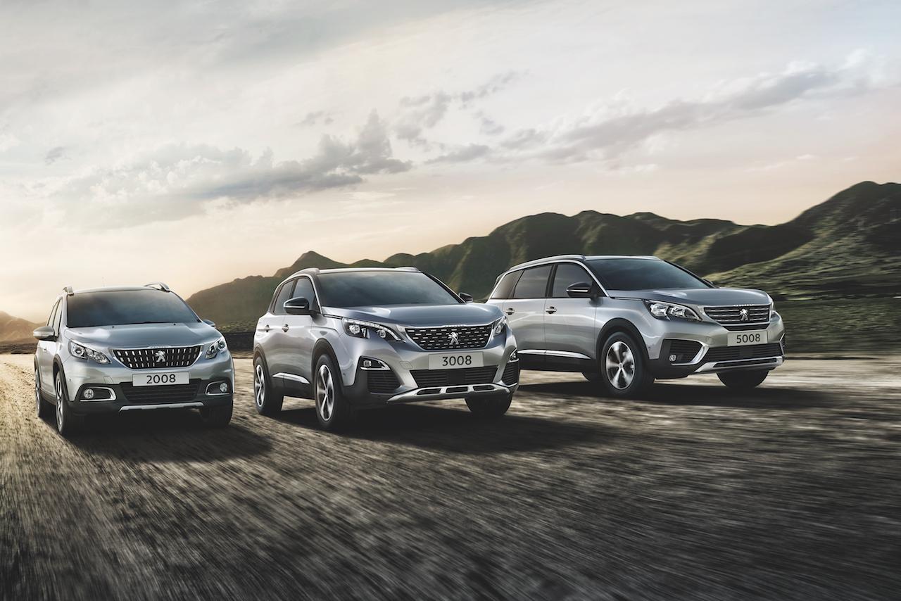 Peugeot 2008, 3008 und 5008 Exterieur