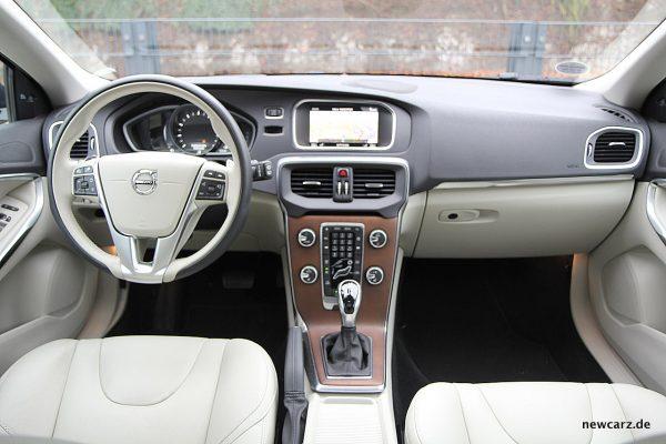Volvo V40 Facelift Armaturenträger
