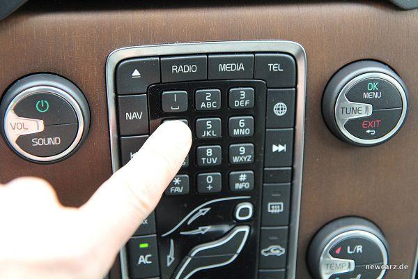 Volvo V40 Facelift Tastatur