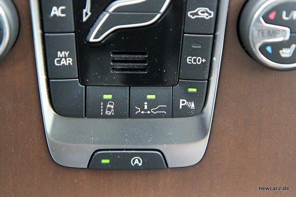 Volvo V40 Facelift Assistenzen