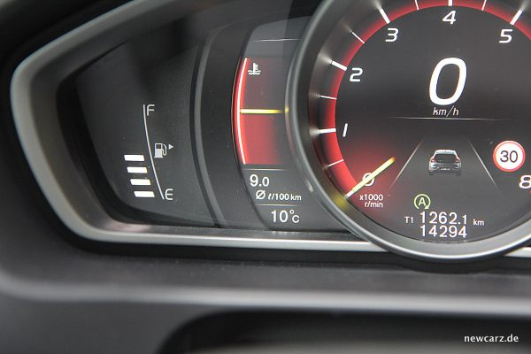 Volvo V40 Facelift Verbrauch