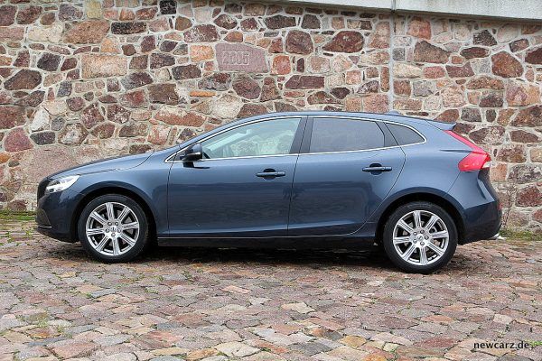 Volvo V40 Facelift Seitenansicht
