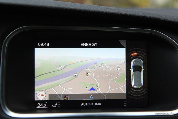 Volvo V40 Facelift Touchscreen