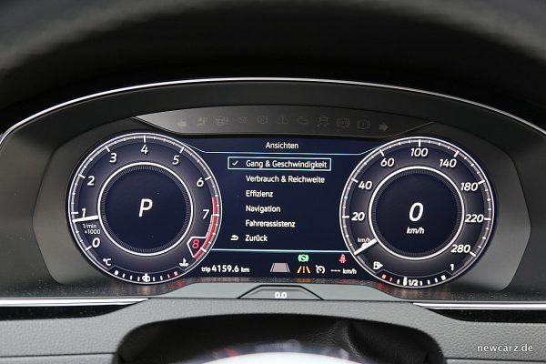 VW Arteon 4Motion Multiinfodisplay