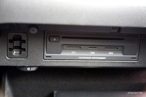 VW Arteon 4Motion Handschuhfach offen