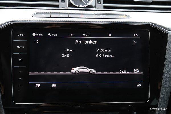 VW Arteon Verbrauch
