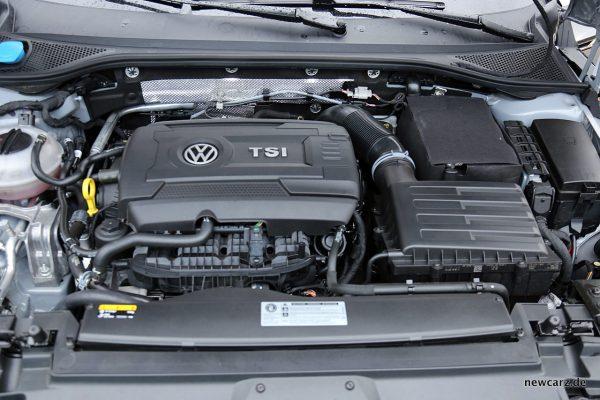 VW Arteon 4Motion Motorraum