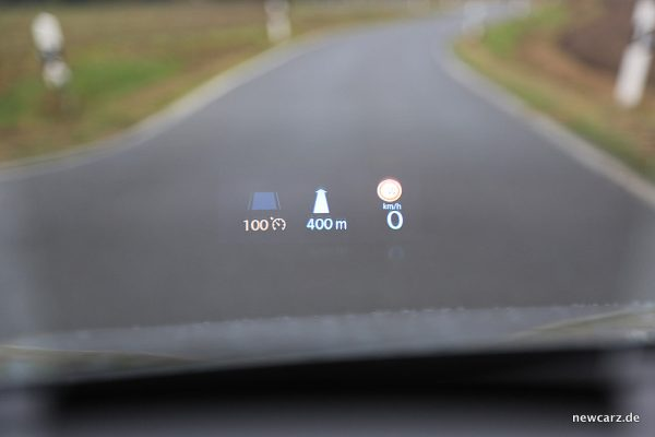 VW Arteon 4Motion HUD