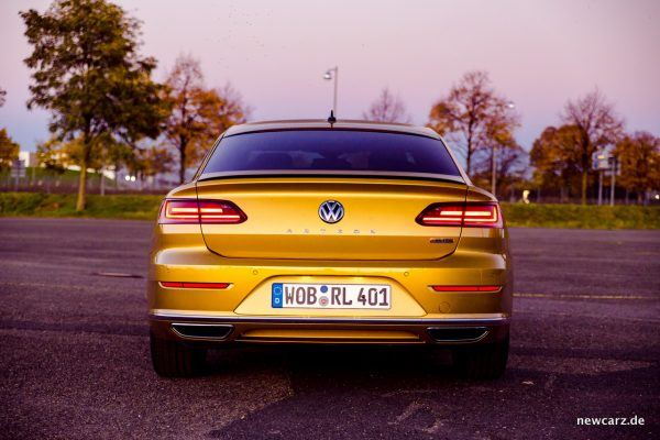 VW Arteon 4Motion Heck