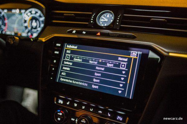 VW Arteon 4Motion Touchscreen