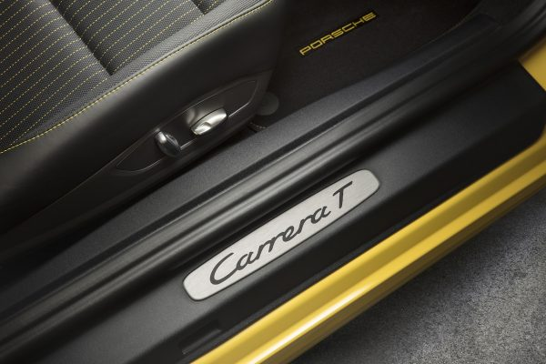 Porsche 911 Carrera T Interieur