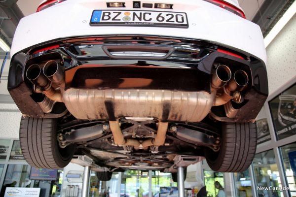 Chevrolet Camaro Cabriolet Unterboden