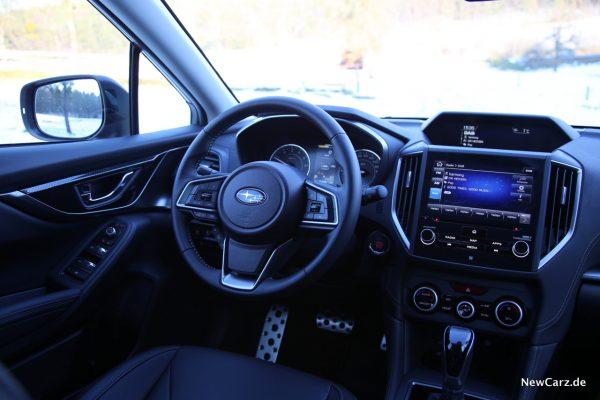 Subaru Impreza Innenraum