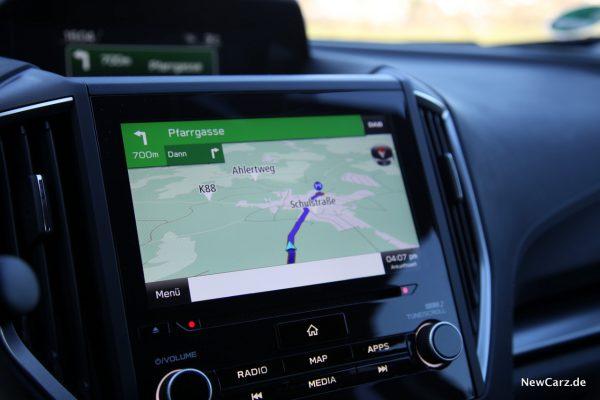 Subaru Impreza Navigationssystem