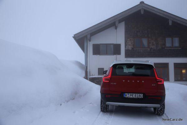 Volvo XC40 D4 AWD Heck