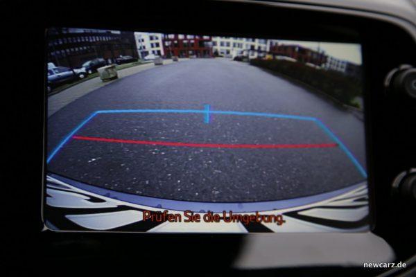 Citroen C1 Rückfahrkamera