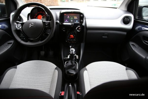 Citroen C1 Interieur
