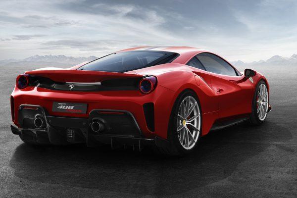 Ferrari 488 Pista Heck