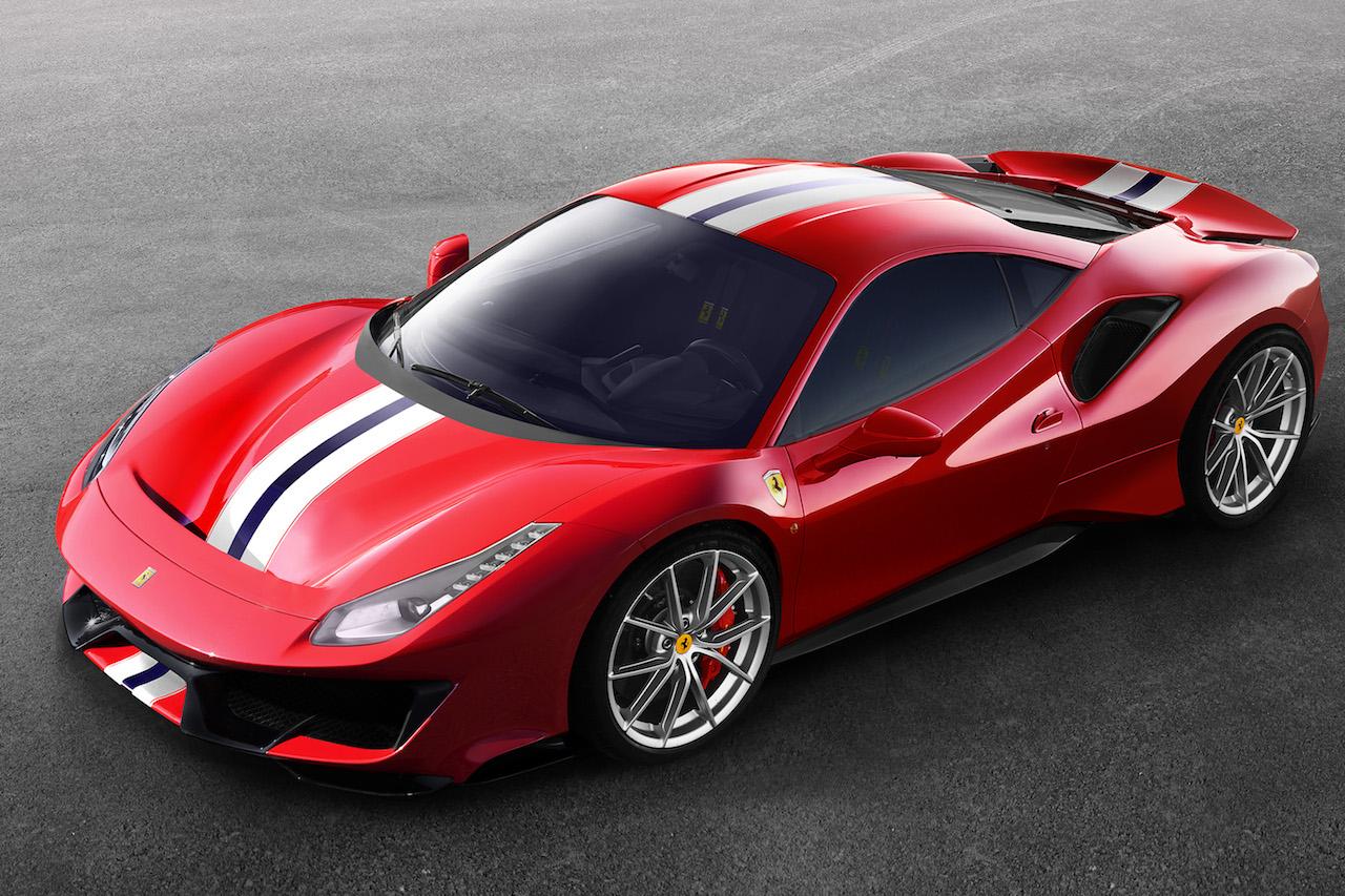 Ferrari 488 Pista Exterieur