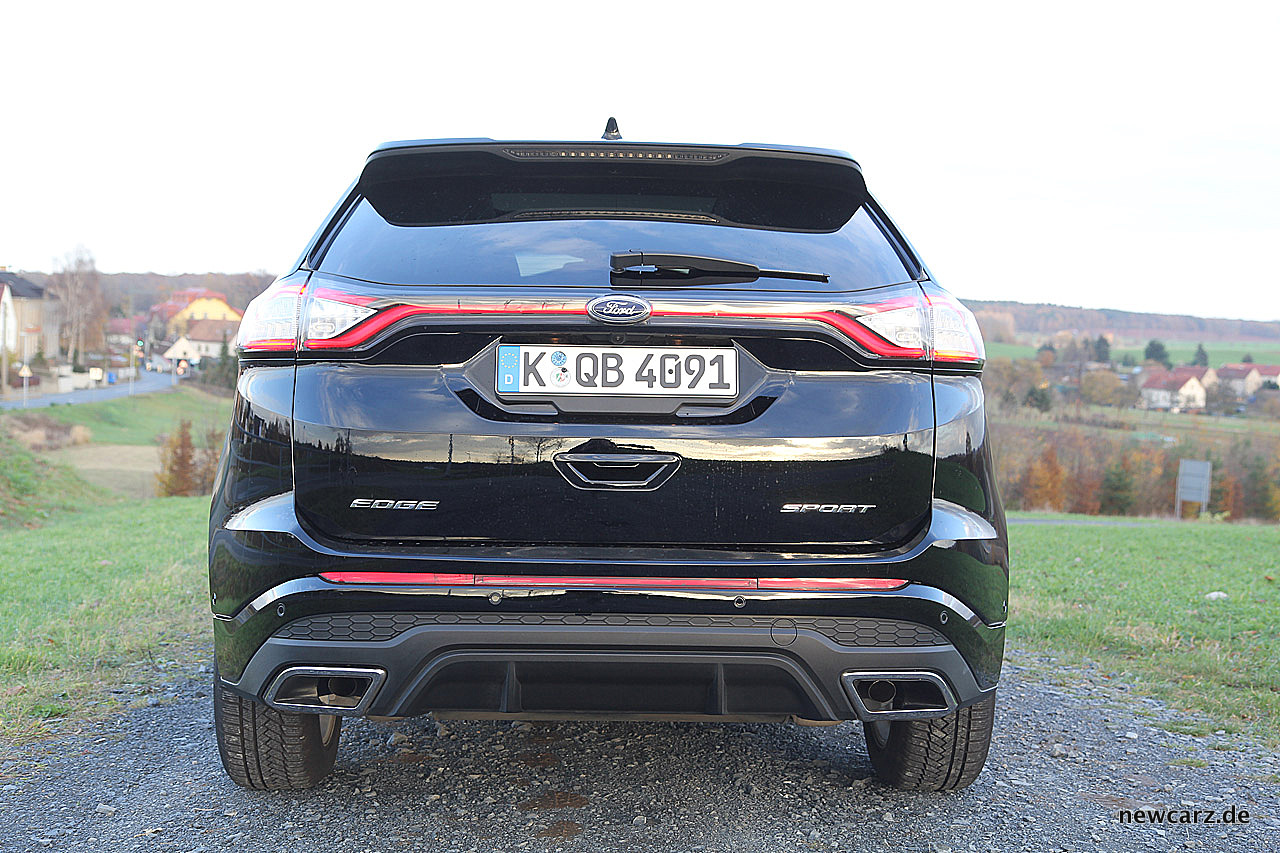 Ford Edge Schneidig Eckig Scharf Newcarz De