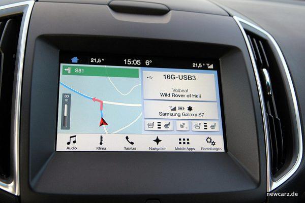 Ford Edge Bildschirm