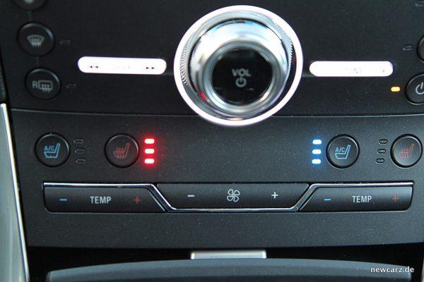 Ford Edge Sitzklimatisierung
