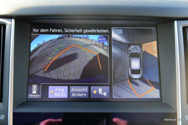 Infiniti Q50S Hybrid Rückfahrkamera