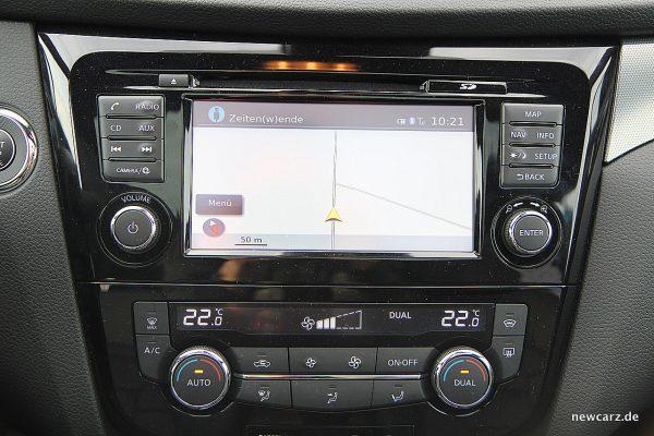 Nissan Qashqai Touchscreen