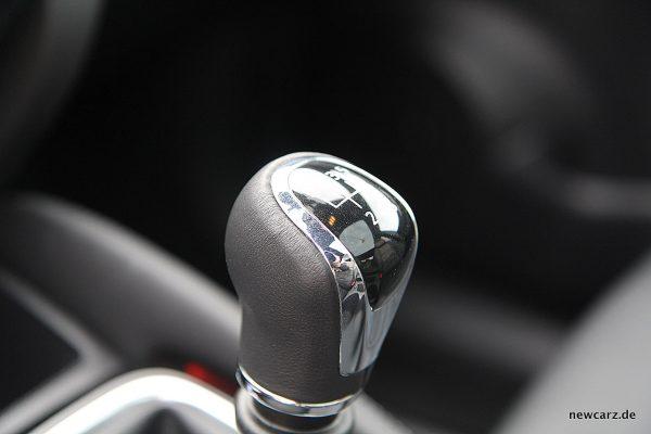 Nissan Qashqai Schalthebel