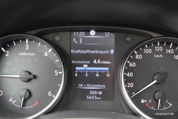 Nissan Qashqai Verbrauch
