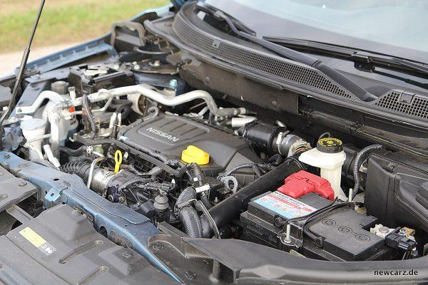 Nissan Qashqai Motorraum