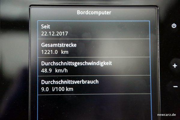 Renault Koleos Bordcomputer Bildschirm
