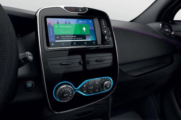 Renault Zoe Touchscreen