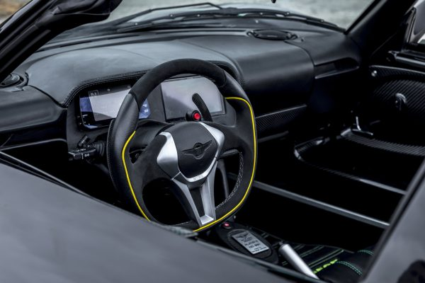 Rezvani Beast Alpha X Blackbird Cockpit