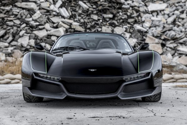 Rezvani Beast Alpha X Blackbird Front