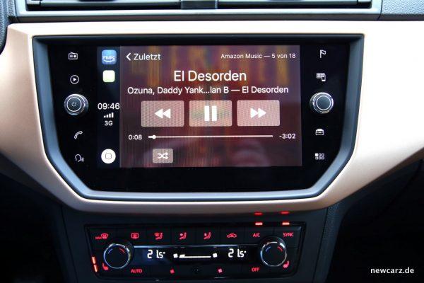 Seat Ibiza Apple CarPlay
