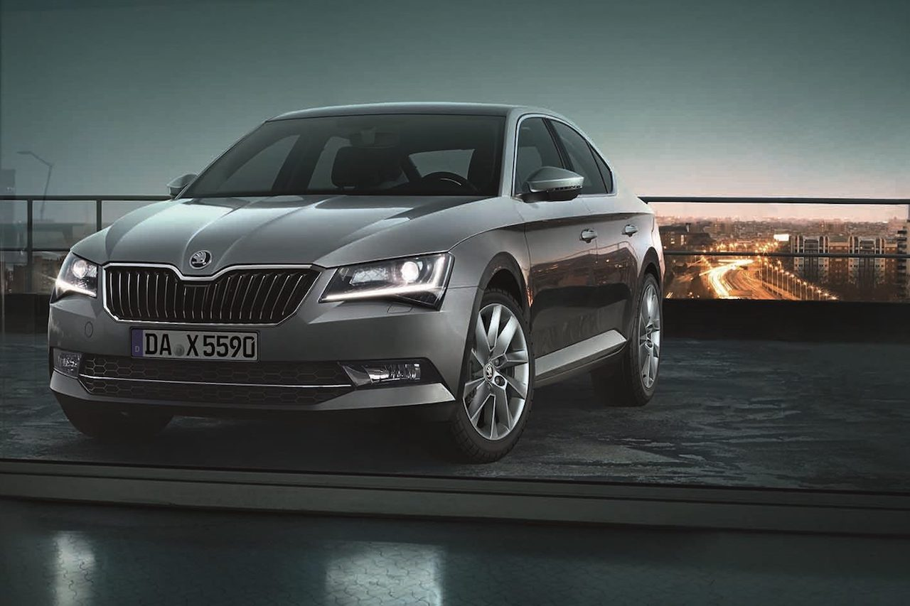 Skoda Superb Premium Edition Exterieur