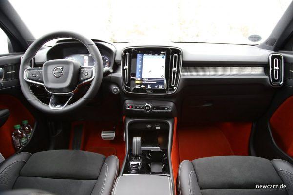 Volvo XC40 Interieur