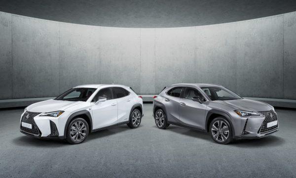 Lexus UX Seite