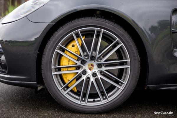 Porsche Panamera Turbo Bremse Keramikbremse