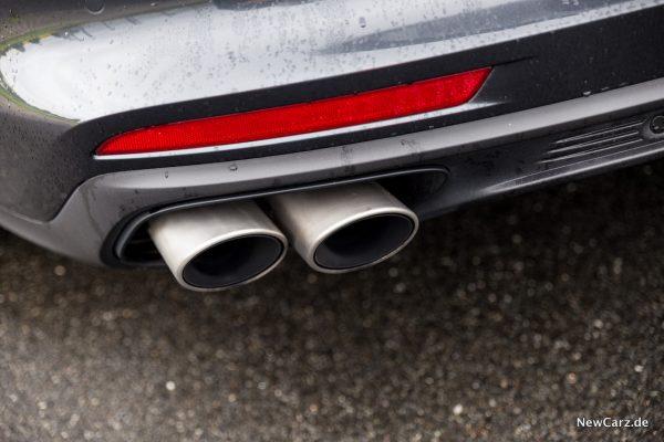 Porsche Panamera Turbo Abgasanlage