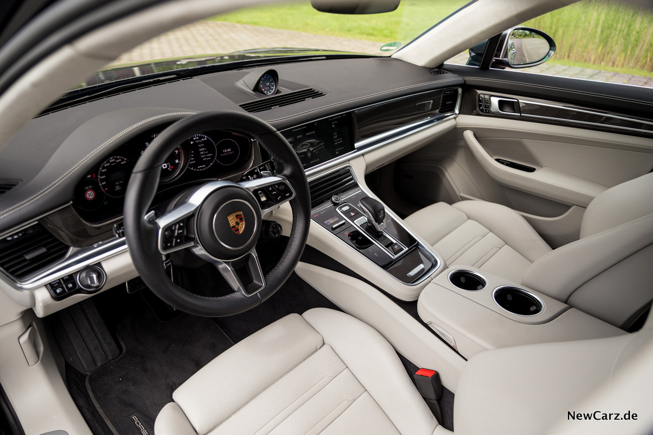 Porsche panamera turbo gene der perfektion for Interieur gegenteil