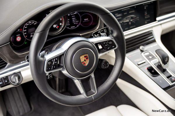 Porsche Panamera Turbo Lenkrad