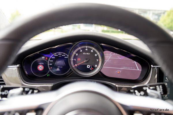 Porsche Panamera Turbo Kombiinstrument