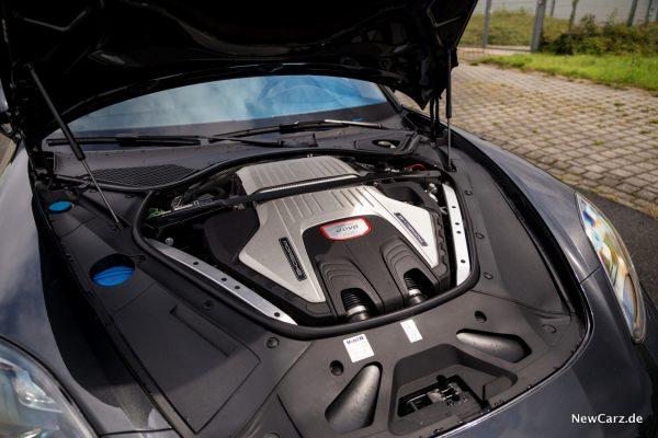 Porsche Panamera Turbo Motor