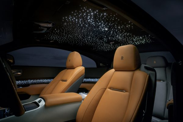 Rolls Royce Wraith Luminary Collection Sternschnuppen