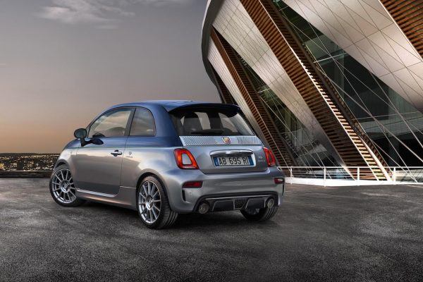 Abarth 124 GT Abarth 695 Rivale Heck