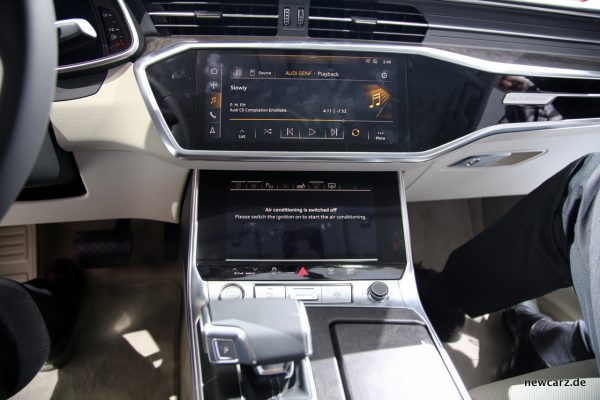 Audi A6 Touchscreens