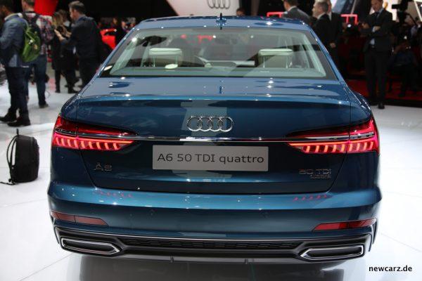 Audi A6 Heck