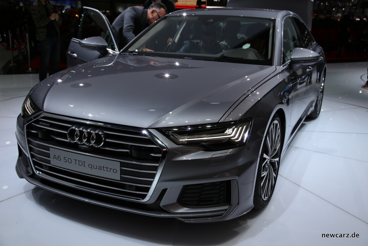 Audi A6 Schulterschluss Wiederhergestellt Newcarz De